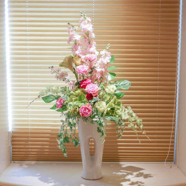 LDR廊下 綺麗な花